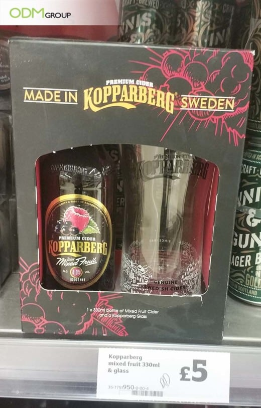 Kopparberg Breaks The Beverage Industry With Its Promo Glassware