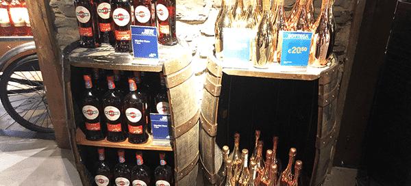 barrel store display
