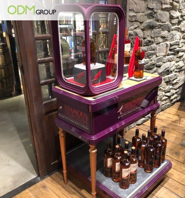 marketing table display