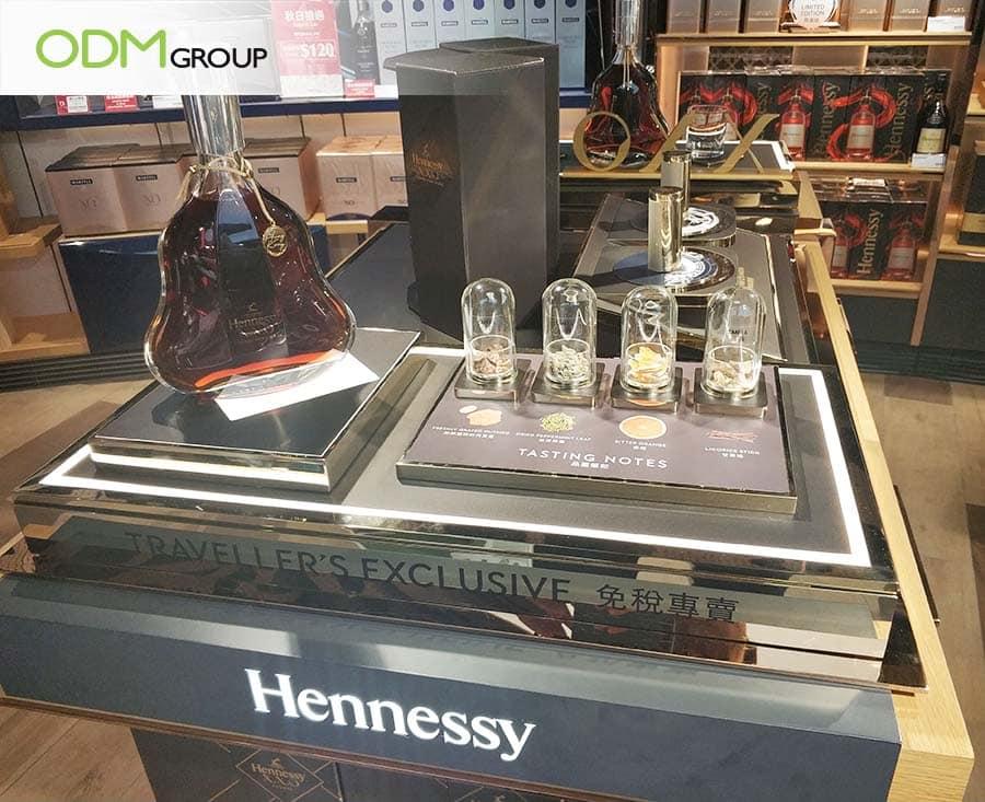 Alcoholic Drinks Display