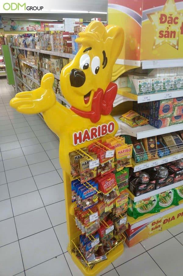 Supermarket POS display