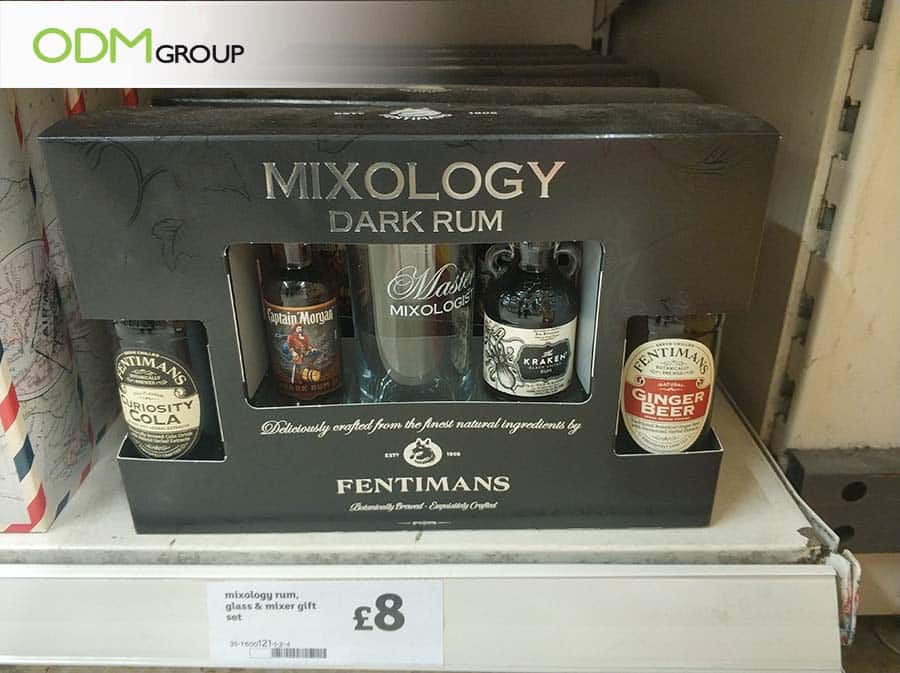 alcohol gift set