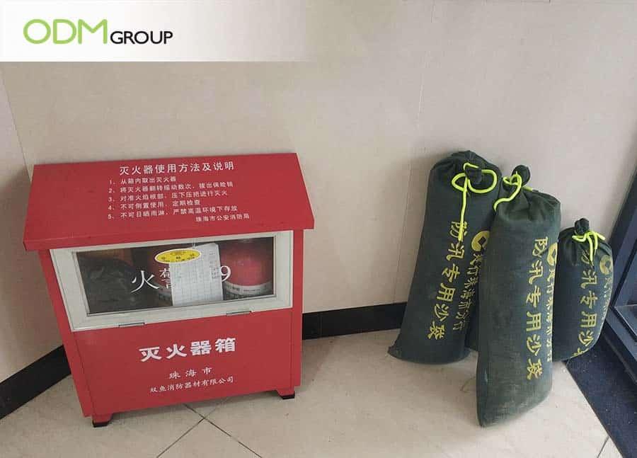 branded sandbags