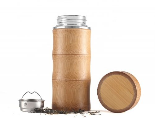 Branded Eco-Friendly Products: Insulated Bamboo Bottle Warms Up Sales