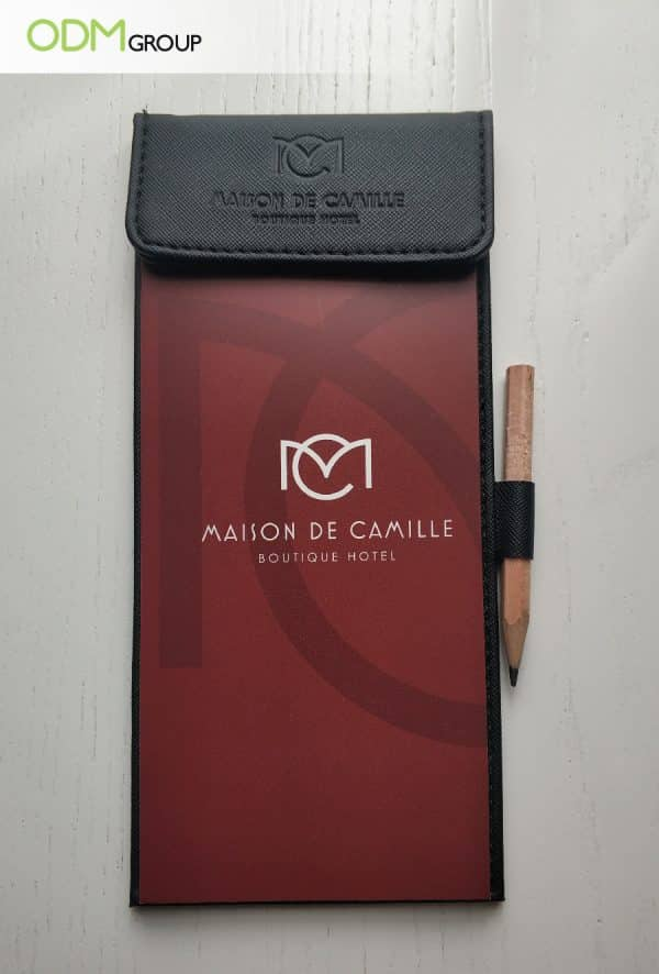 customised branded stationery