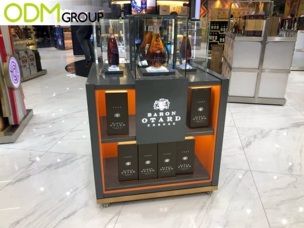 whiskey displays