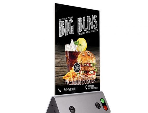 Can this Advertising Menu Power Bank Recharge Your Business?