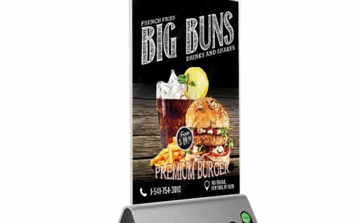 Advertising Menu Power Bank