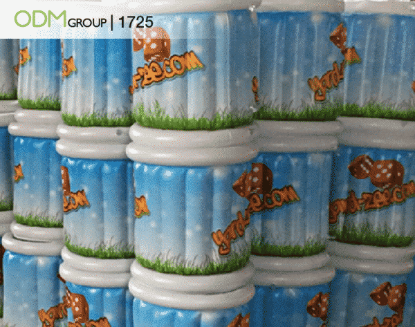 Custom Inflatable Ice Bucket