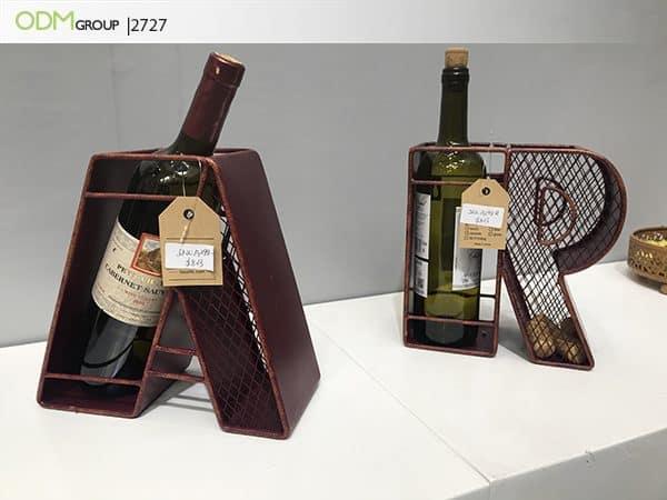 Custom Wine Bottle Holder