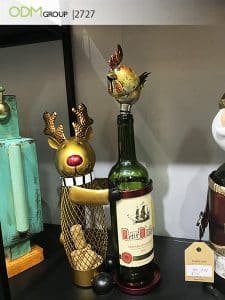 Custom Wine Bottle Holder