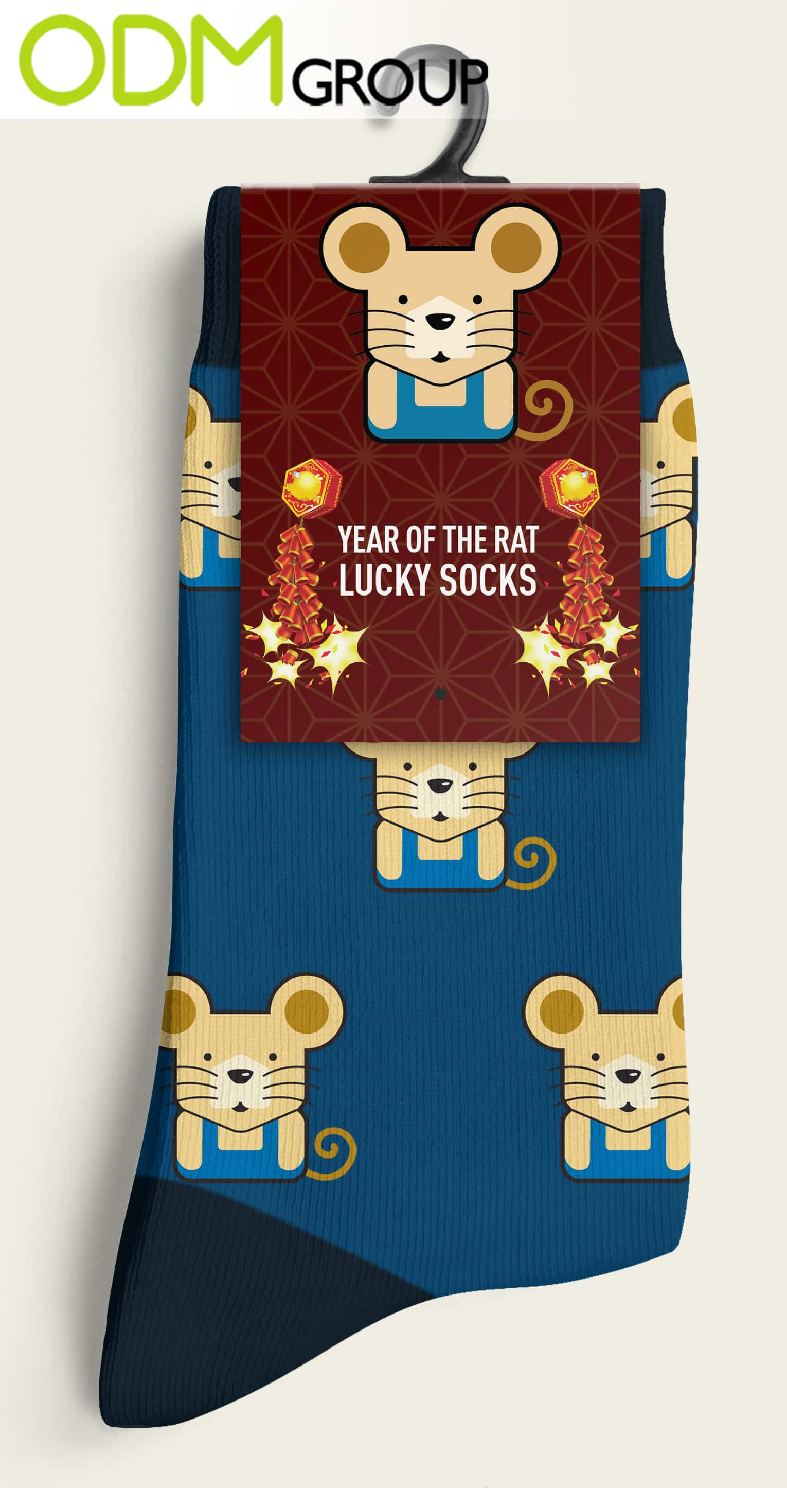 Year of The Rat Socks