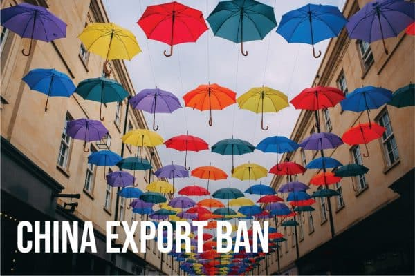 China export ban