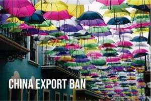China Exports Ban