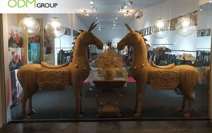 Wooden Retail Display