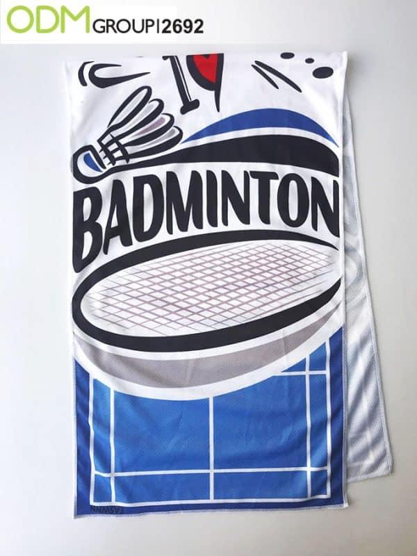 Custom printed cooling towels
