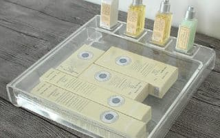 Customized acrylic display case