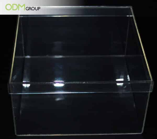 Customized acrylic display case