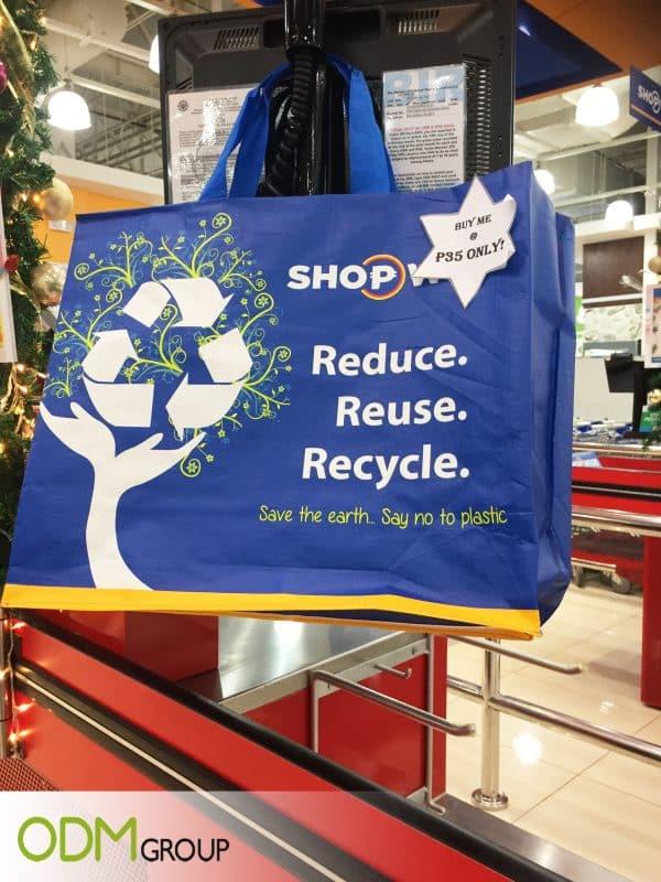 Shopping Bag With Logo