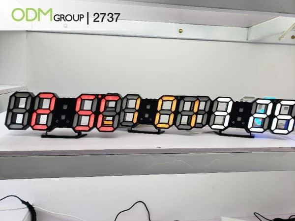 Custom Clocks with Logo