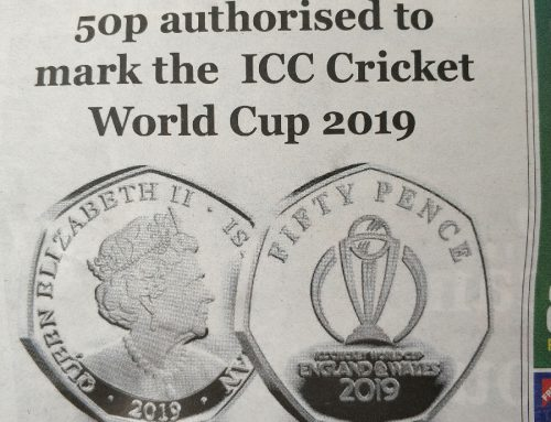 Look! Logo Commemorative Coins for ICC Cricket World Cup Wow Fans