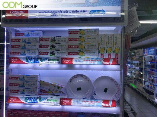 supermarket in-store promotion