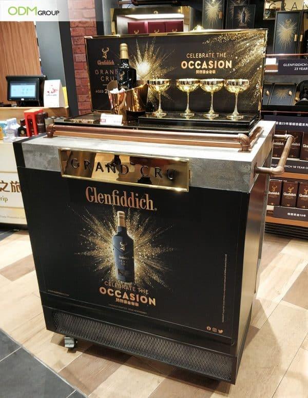 Custom Liquor Display