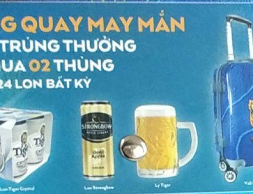 Custom Marketing Gifts – Tiger Beer Brews Excitement
