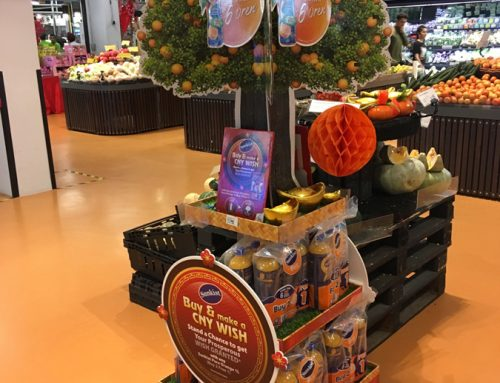 This Supermarket Advertising Display Makes Wishes Come True