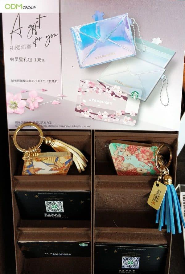 pouch car holder designed by Starbucks