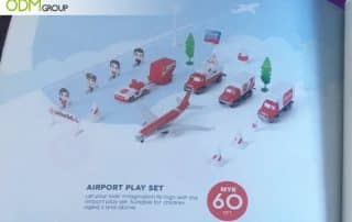 Collectible Airline Merchandise