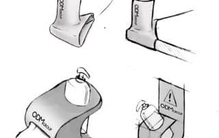 3 Bottle Glorifier Designs for Hand Sanitizers