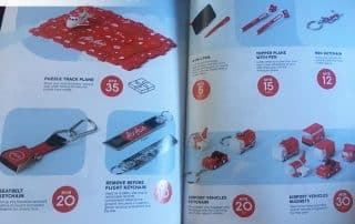 Branded promotional items by AirAsia