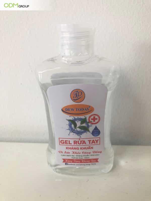 Hand sanitizer promotion : GWP