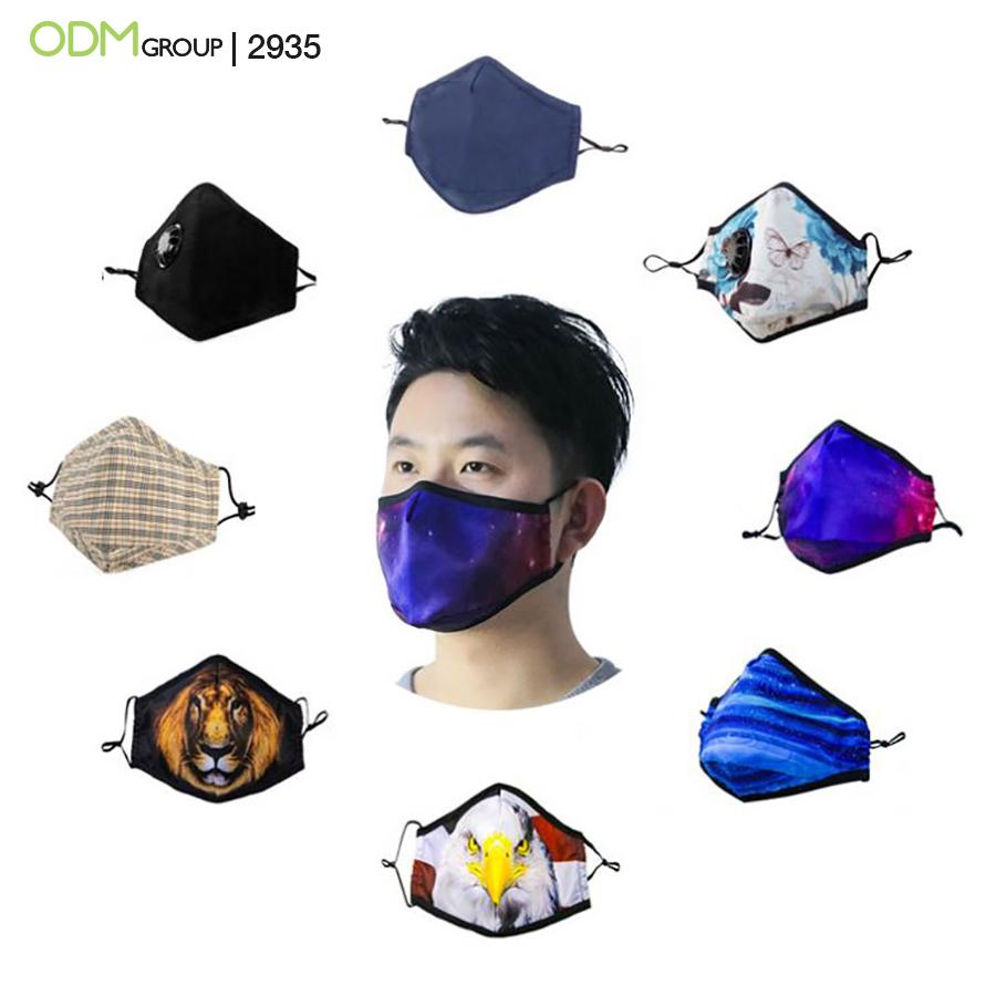 Custom Resuable Face Masks