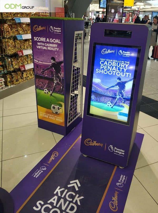 Virtual Reality Marketing Display