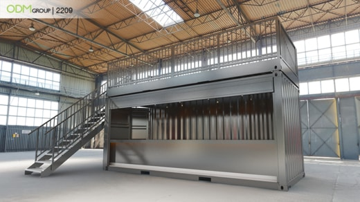 Branded Container Pop-Up Stores