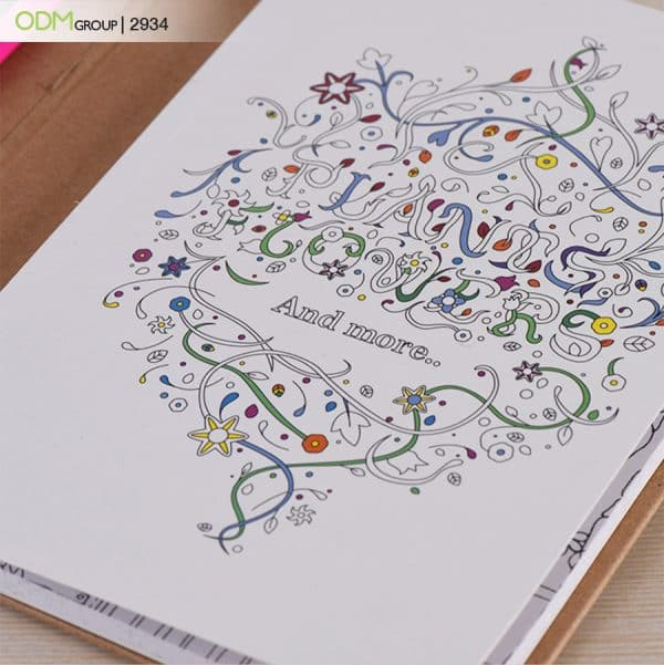 Promotional Coloring Book