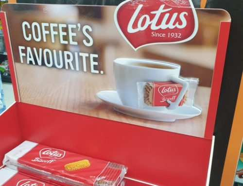 Spice Up Your Brand with a Confectionery Cardboard Display – Lotus