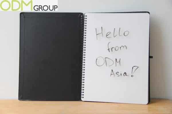 Custom Promotional Notebook- Whiteboard Notebook