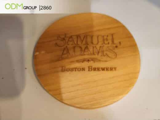 Raise your company profile with Branded Wooden Coasters