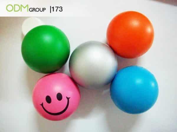 Wellbeing initiatives - stress balls