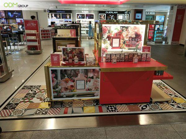 Perfume Marketing Display
