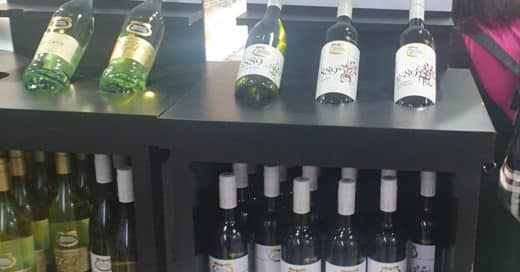 Wine POS Display