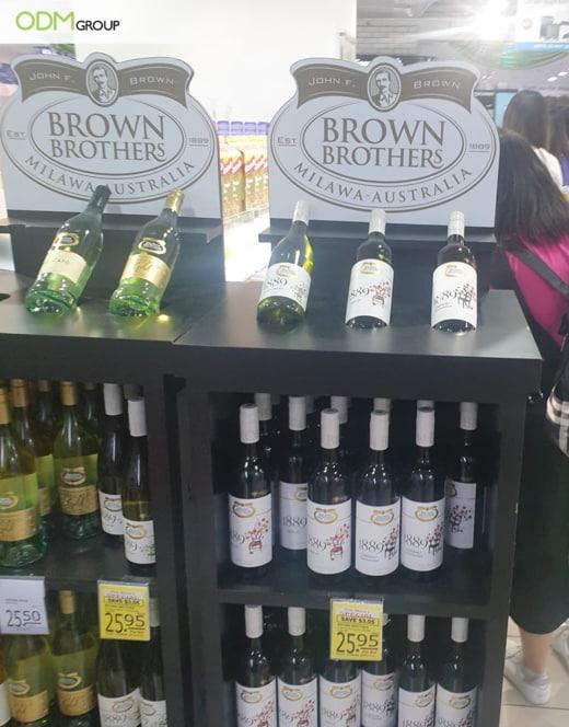 Wine POS Display