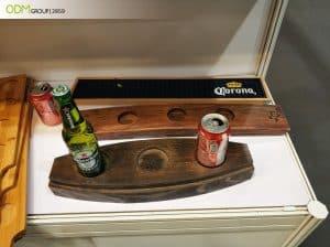 Branded Wooden Beer Flight