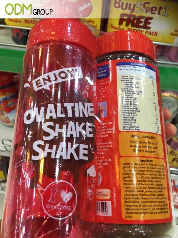 Custom Printed Shaker Bottle