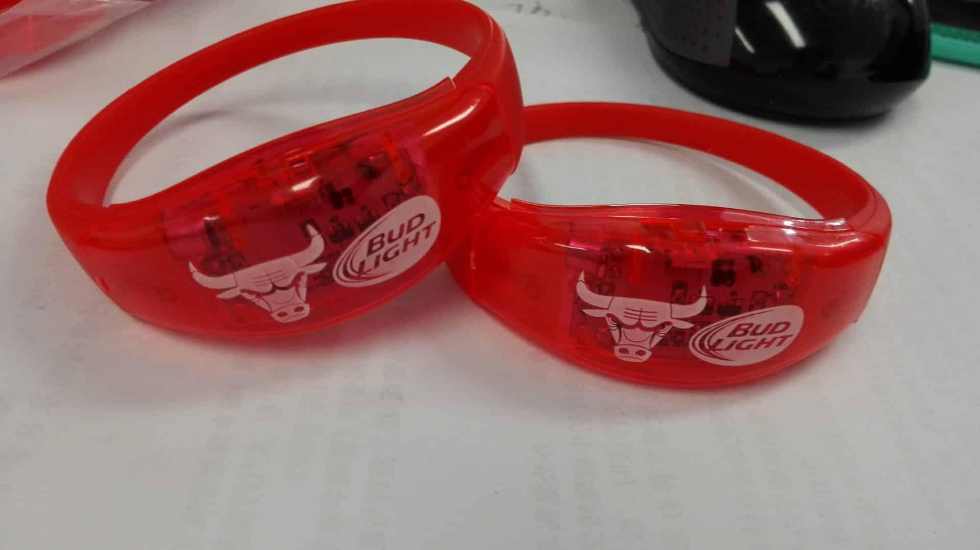 Custom LED Bracelets