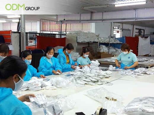 Manufacturing Masks in Vietnam