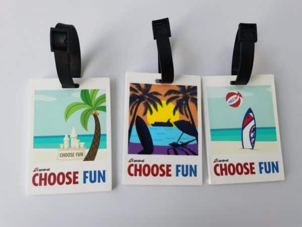 Custom Travel Tags